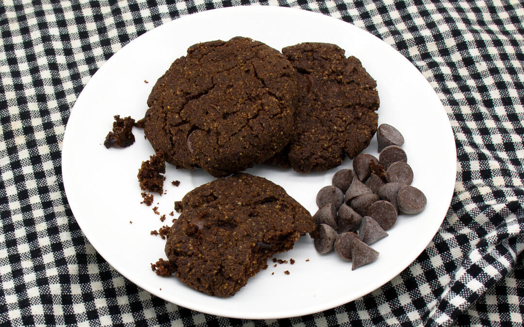 Gluten-Free Double Choc Cookies